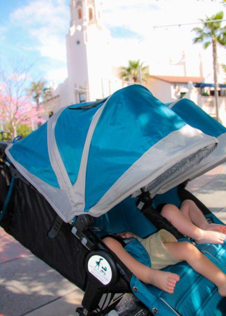 Stroller as a wheelchair for DIsney Disability Access Service
