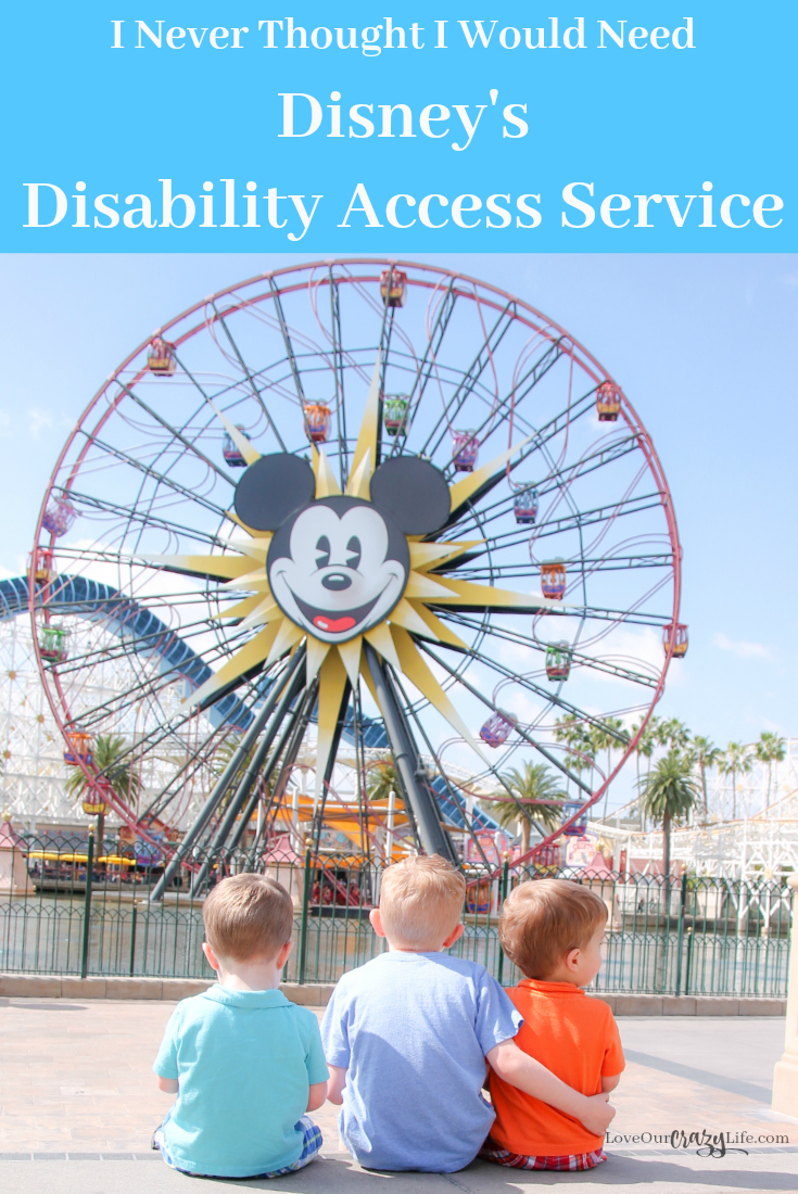 Disney's Disability Access Service is there to help guests enjoy their Disneyland or Walt Disney World vacations. I never thought I would need it, but I was sure happy it was there when we did need it. Learn how it impacted our visit and why we need to stop talking poorly about those who use it.