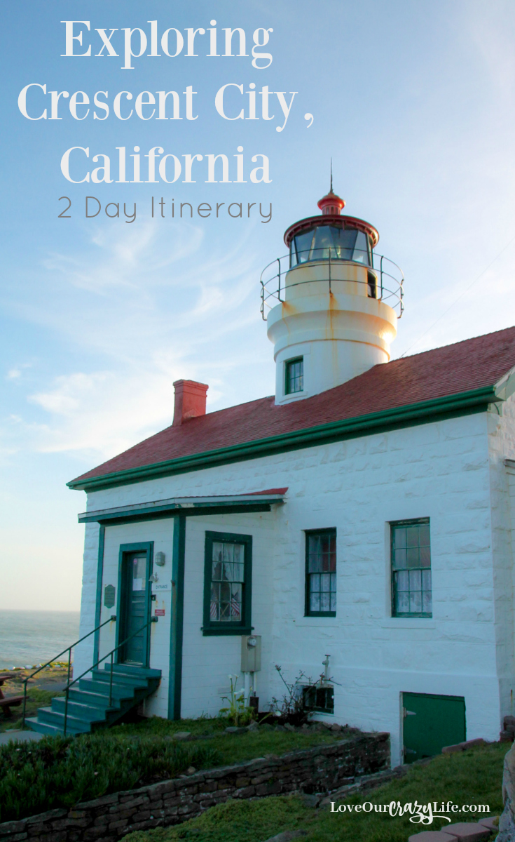 There is a lot to do in Crescent City, California and Klamath, California. Family Travel | Vacation | Northern California | Lighthouses | Redwoods | Road Trip