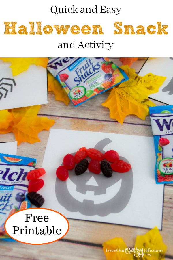 Quick and Easy Halloween Snack and Halloween Activity in one. Perfect for school parties and more.  Kids | Parties | Halloween | Snacks | Activities | Preschooler | School