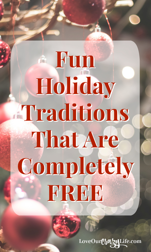 Christmas and holiday traditions are a big part of the season. Check out these fun and free activities to do with your kids and start your own family traditions. | Christmas | Traditions | Holidays | Activities | Family | Kids | Free  #FamilyActivities #ChristmasActivities #Kids