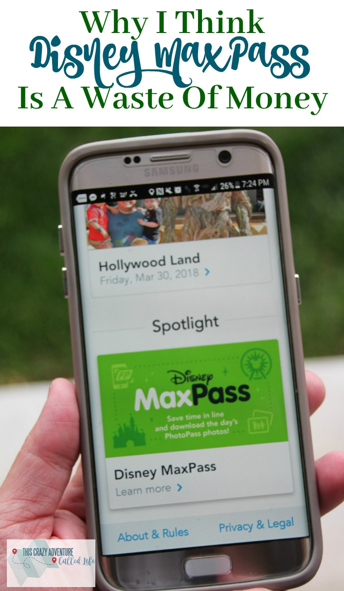 Disney MaxPass is the first