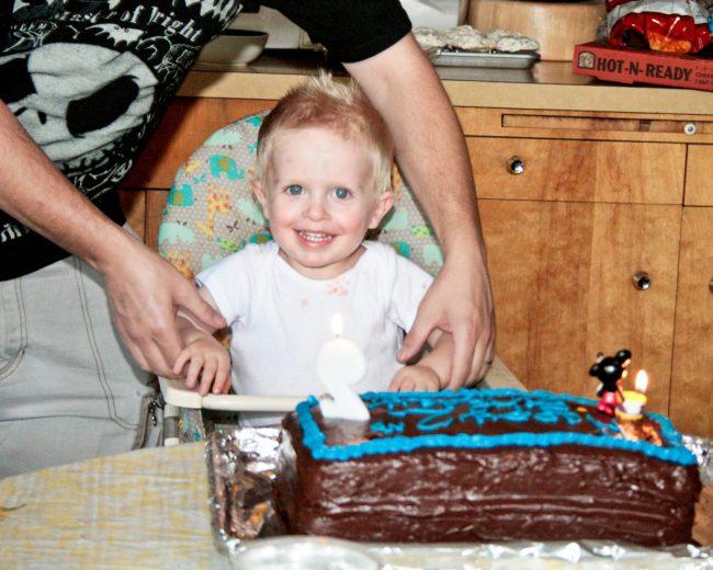 Kids don't get birthday parties