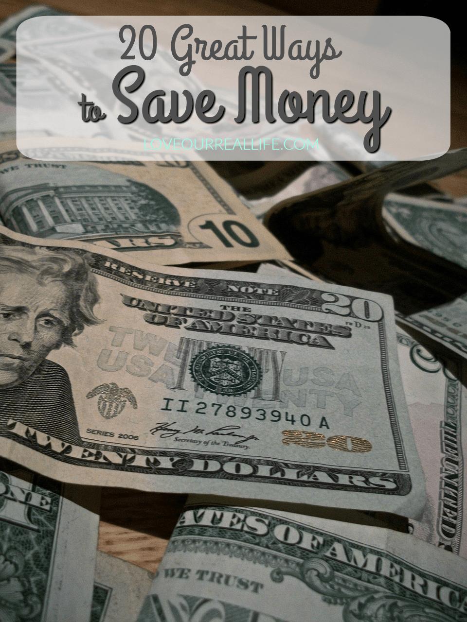 money, Save money, ways to save money, frugal living