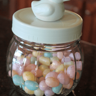 Easter jar DIY