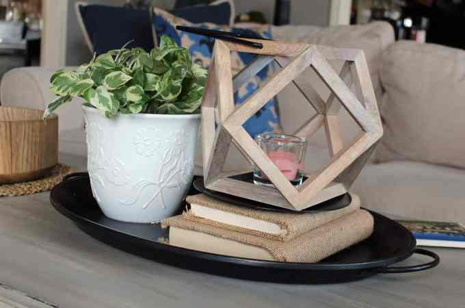 Vignette, coffee table vignetter