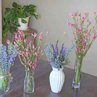 Faux flowers, Artificial flowers, faux flowers in decor