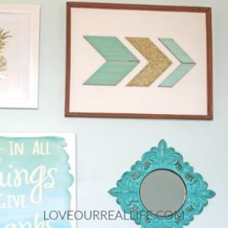 Tween bedroom makeover with before and after pictures to inspire you!