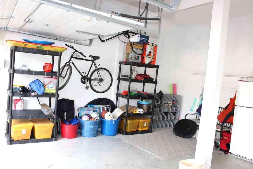 garage organization, cleaning out a garage,