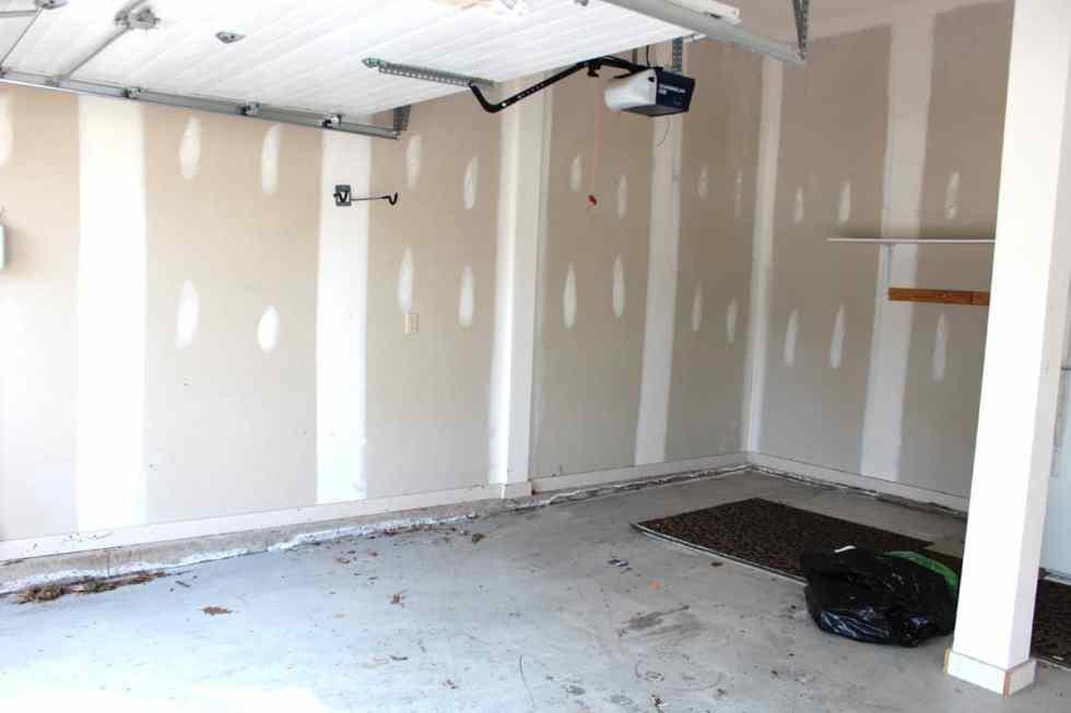 garage organization, painting a garage, cleaning out garage