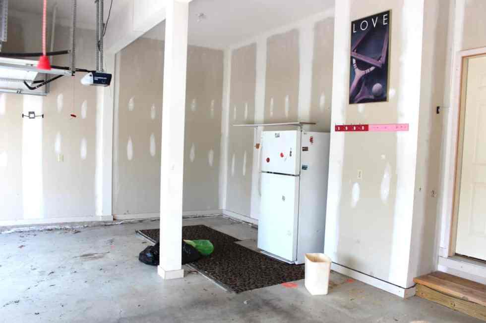 Garage Organization, cleaning a garage, painting a garage, garage storage