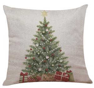 Christmas tree pillow cover, Inexpensive Christmas pillows
