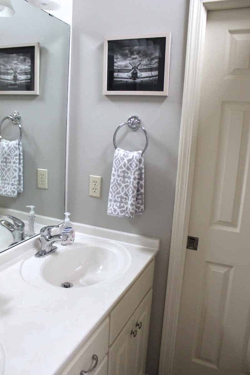 Teen Boy Bathroom Makeover Love Our Real Life