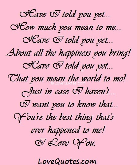 If Someone Loves You Quotes