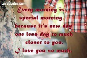 Every Morning Is Special