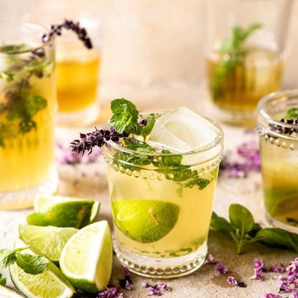 Basil White Tea Mojito