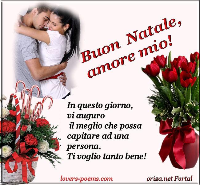 Accompagnandole con delle immagini di buon natale amore per lui o per lei. Italiano Buon Natale Amore Mio Oriza Net Portal Lovers Poems Com Art Romance Poetry