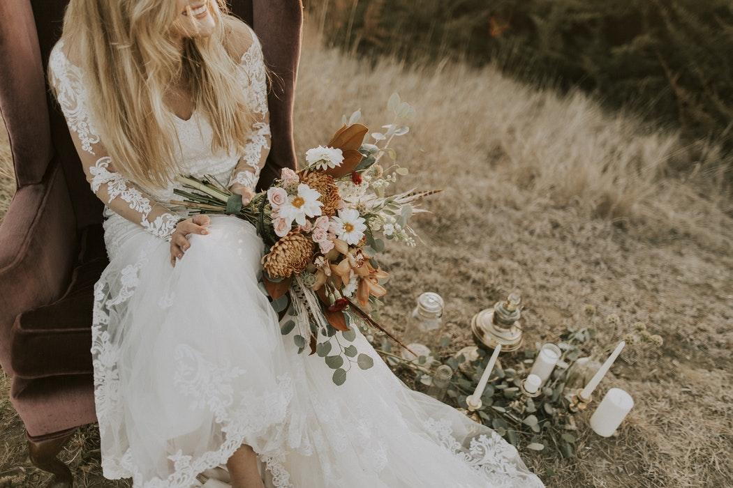 poseren voor je trouwfoto's