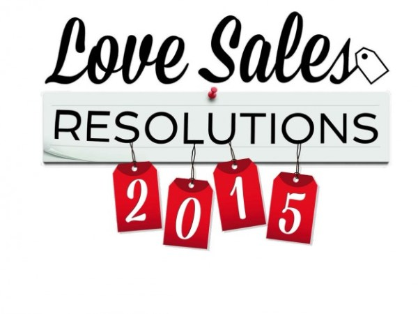 New Years Resolutions- Let LoveSales Kick Start Your 2015
