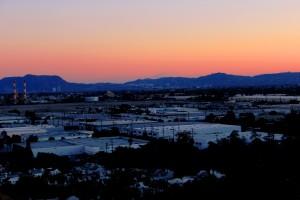Cahuenga Pass Twilight 2