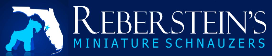 Reberstein's Miniature Schnauzer Logo