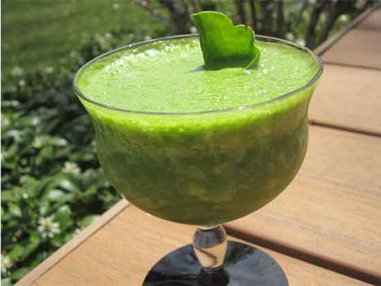 Three Ingredient Green Smoothie