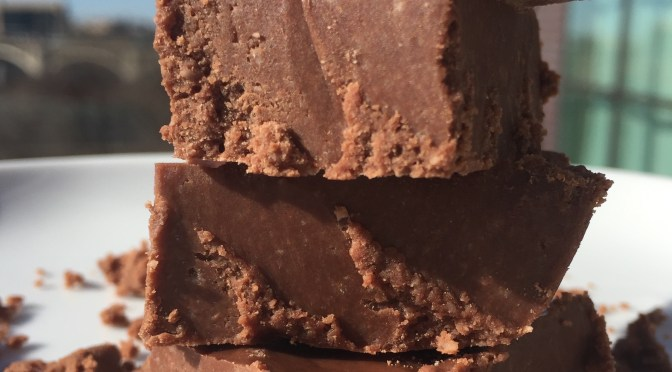 LoveSelf five minute Paleo Chocolate Fudge