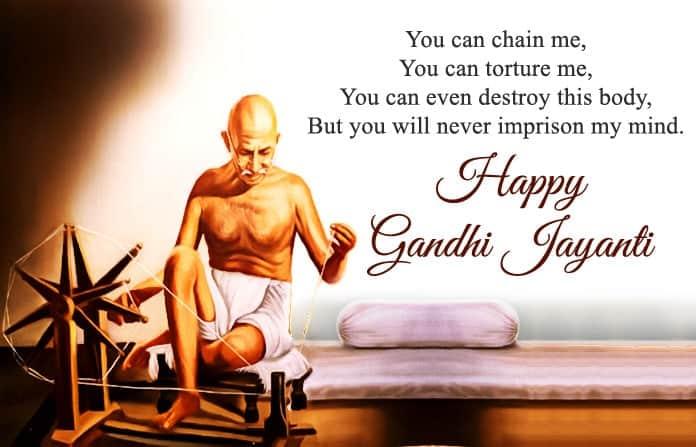 Gandhi Jayanti SMS Greetings In English, Gandhi Jayanti Wishes, Happy Gandhi Jayanti SMS in English, gandhi jayanti essay, gandhi jayanti wishes in english