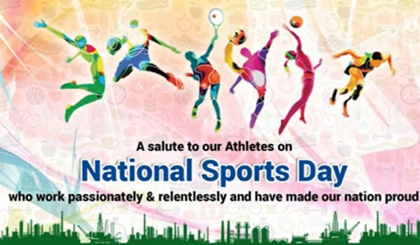 On National Sports Day, Happy National Sports Day Wishes Picture, National Sports Day Wishes