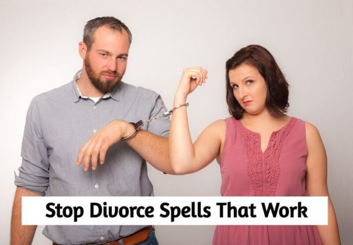 LOVE SPELL TO STOP DIVORCE