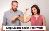LOVE SPELL TO STOP DIVORCE