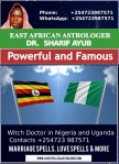 Witch Doctor in Nigeria and Uganda Contacts +254723 987571