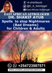 Spells to stop Nightmares (Bad Dreams) for Children & Adults