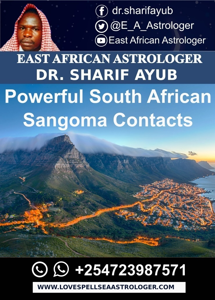 Powerful South African Sangoma Contacts