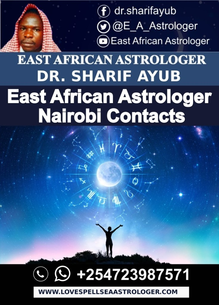 East African Astrologer Nairobi Contacts