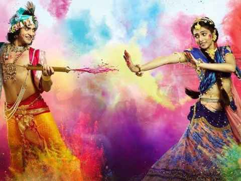 Radha krishna Happy Holi Status (lovestatuswhatsapp.com)