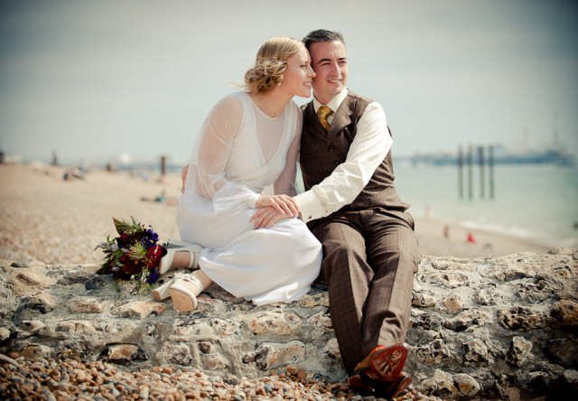West Pier wedding photo, Brighton