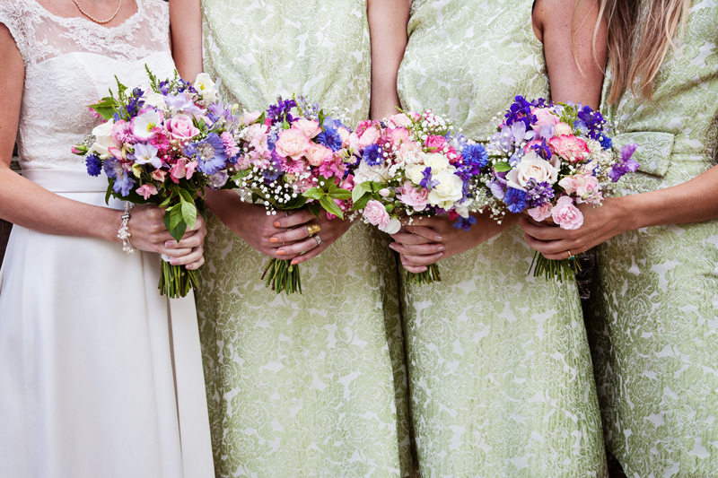 A Scottish Meets English Country Wedding with Vintage Tea Party at ...