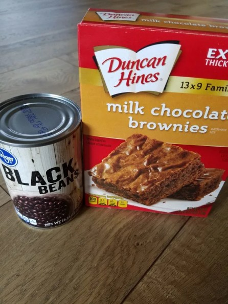 $3 brownie recipe with black beans