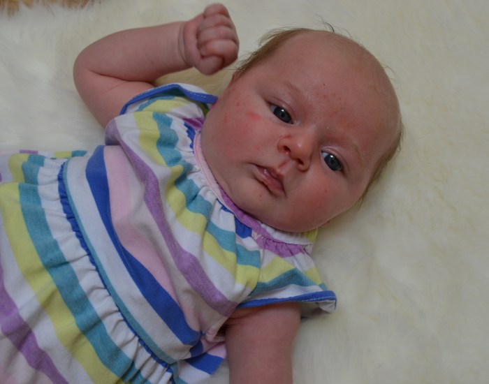 Baby's One Month Update #Piper