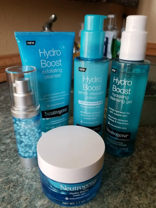 Hydrate and brighten your tired skin with Neutrogena's NEW Hydro Boost!