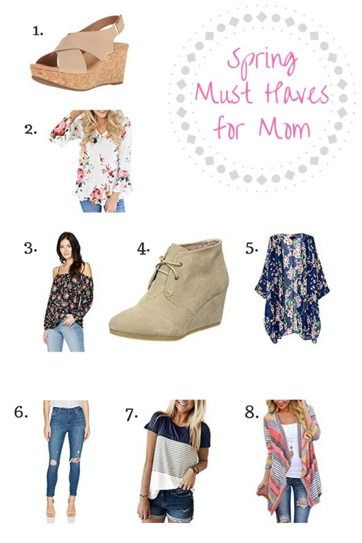 Spring must haves for mom