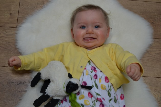 Baby's Ninth Month Update #Piper