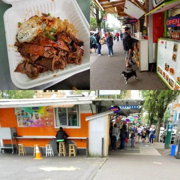 portland, oregon food trucks