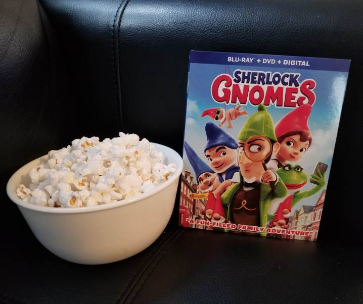 My family loves Sherlock Gnomes for family movie night! #SherlockGnomes