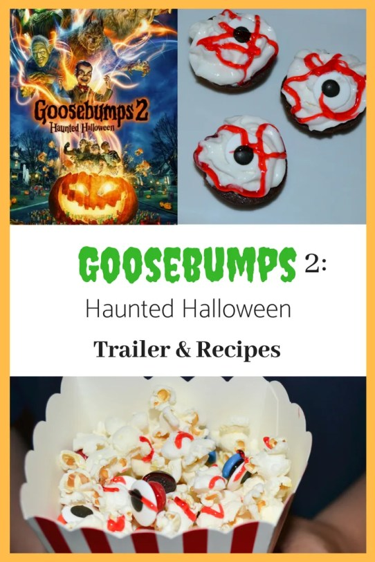 Goosebumps 2: Haunted Halloween trailer and fun recipes to do with your family!