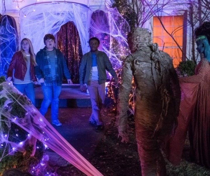Goosebumps 2: Haunted Halloween trailer and recipes!