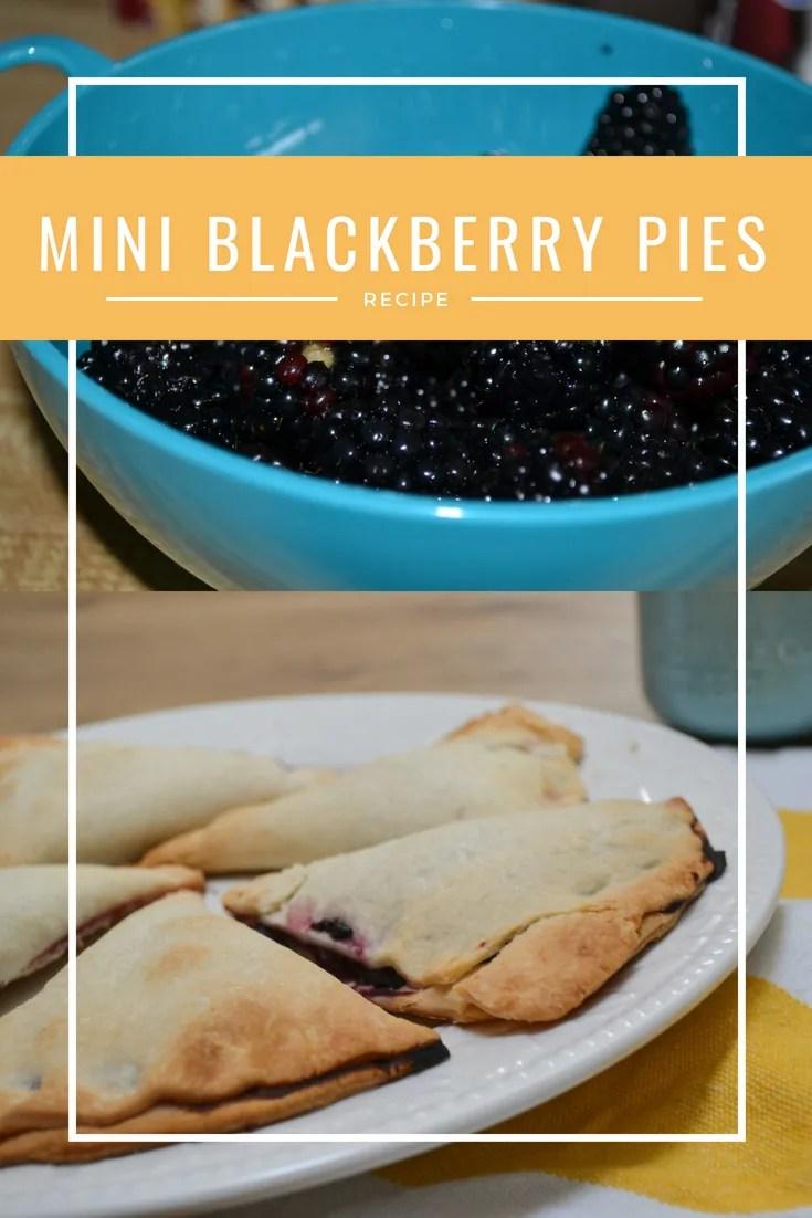 Quick and Easy Mini Blackberry Pies