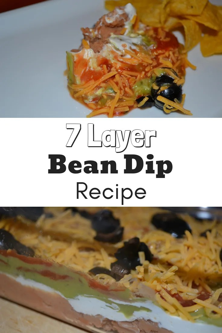 This 7 layer bean dip recipe is a crowd pleaser and it's very easy to make!