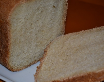 Basic White Bread in the Bread Machine
